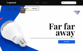 Lightbulb Free WordPress Theme