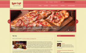 LightCafe Free WordPress Theme