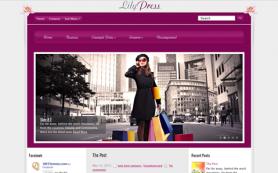 LilyPress Free WordPress Theme