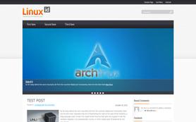 LinuxId Free WordPress Theme