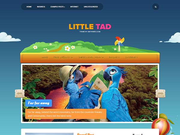 LittleTad Free WordPress Theme