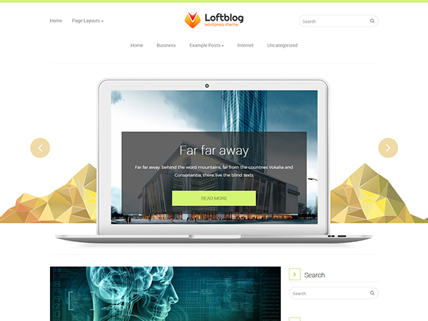 Loftblog WordPress Theme