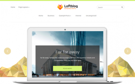 Loftblog Free WordPress Theme