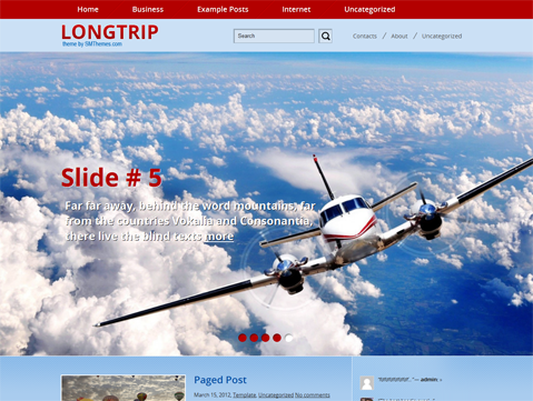 LongTrip Free WordPress Theme