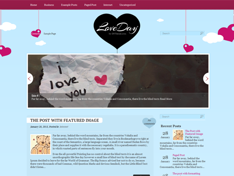 LoveDay WordPress Theme