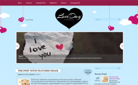 LoveDay Free WordPress Theme