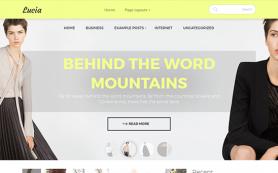 Lucia Free WordPress Theme