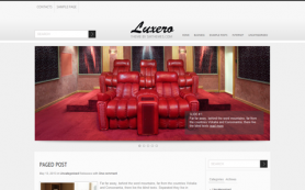Luxero Free WordPress Theme
