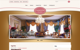 LuxuryInn Free WordPress Theme