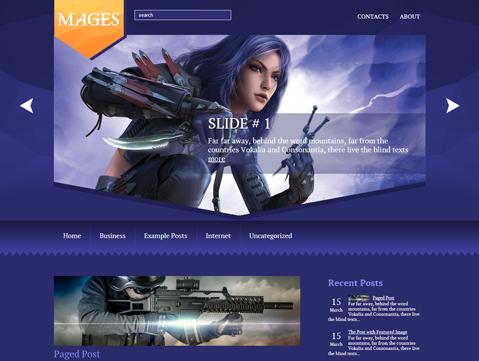 Mages Free WordPress Theme