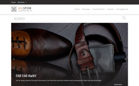 Mastor Free WordPress Theme