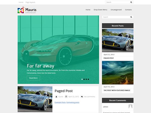 Mauris WordPress Theme