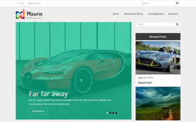 Mauris Free WordPress Theme