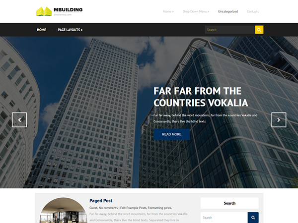 MBuilding WordPress Theme