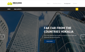 MBuilding Free WordPress Theme