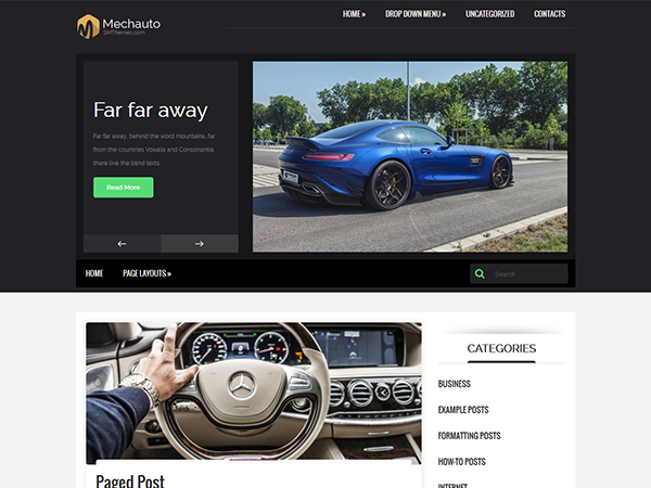 Mechauto Free WordPress Theme