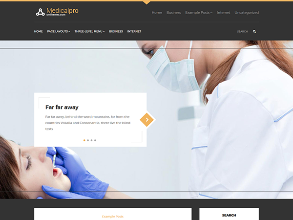 MedicalPro Free WordPress Theme