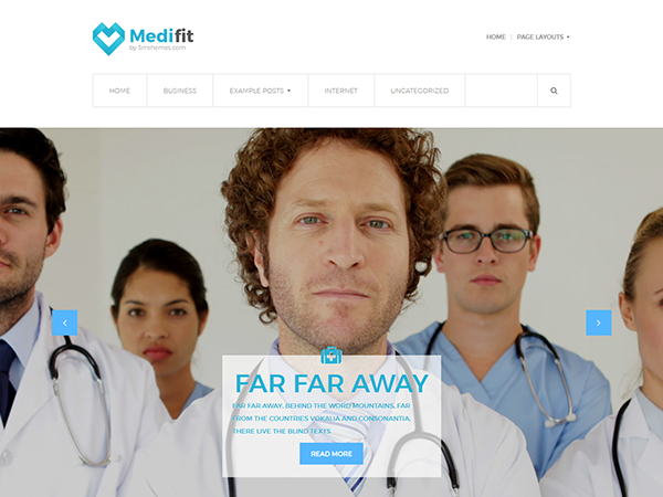 Medifit WordPress Theme