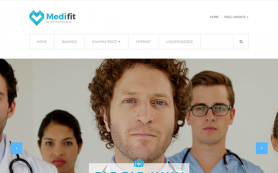 Medifit Free WordPress Theme