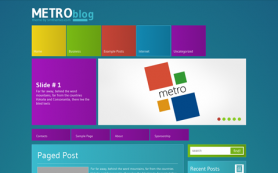 MetroBlog Free WordPress Theme