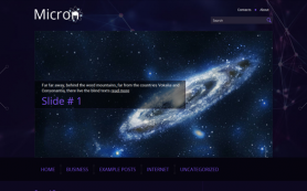Micron Free WordPress Theme
