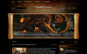 MiddleEarth Free WordPress Theme