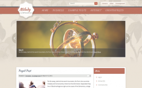 Milady Free WordPress Theme