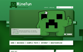 MineFun Free WordPress Theme
