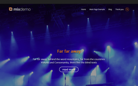 MixDemo Free WordPress Theme