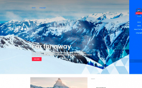 MountainClub Free WordPress Theme