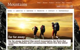 Mountains Free WordPress Theme