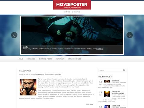 MoviePoster WordPress Theme