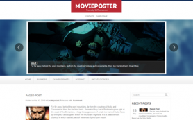 MoviePoster Free WordPress Theme