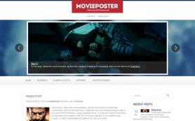 MoviePoster Free WordPress Theme