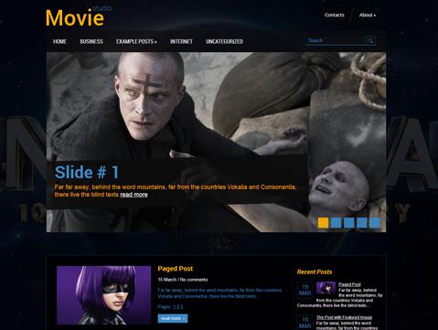 MovieStudio WordPress Theme