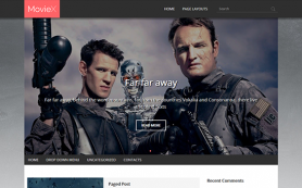 Moviex Free WordPress Theme