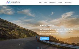 MTourismo Free WordPress Theme