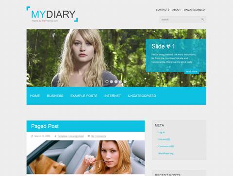 MyDiary WordPress Theme