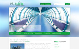MyEstate Free WordPress Theme