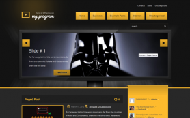 MyProgram Free WordPress Theme