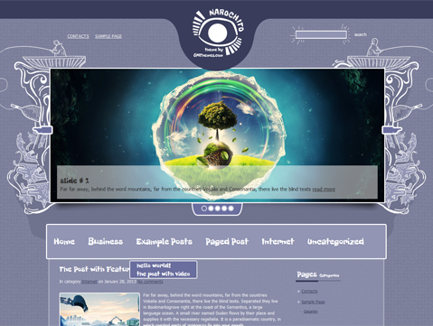 Narochito Free WordPress Theme