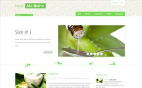 NaturalMedicine Free WordPress Theme