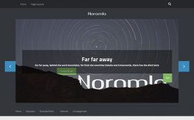 Noramla Free WordPress Theme