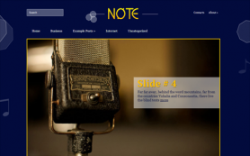 Note Free WordPress Theme