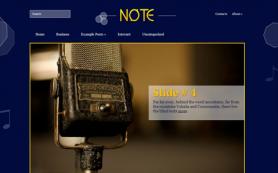 Note Free WordPress Theme