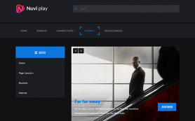 NuviPlay Free WordPress Theme