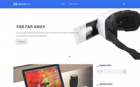Oculustech Free WordPress Theme