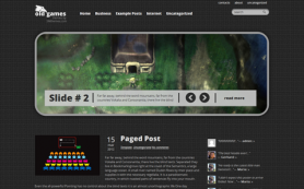 OldGames Free WordPress Theme