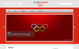OlympicGames Free WordPress Theme