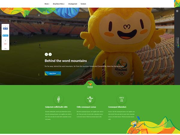 OlympicRio WordPress Theme